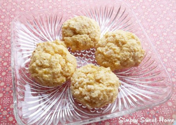 Banana Cake Mix Cookies