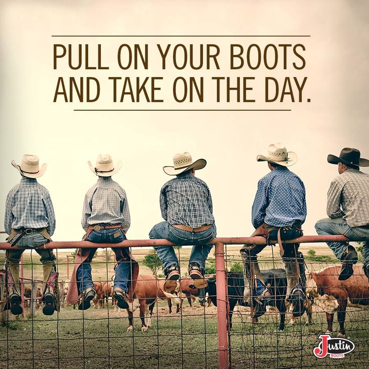 Pull on your boots and take on the day