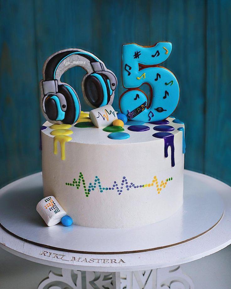Картинки с днем рождения на торте мальчику 10 лет