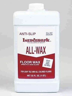 Lundmark Wax #3201F32 6 32OZ Anti Slip Floor Wax By Lundmark. $5.42
