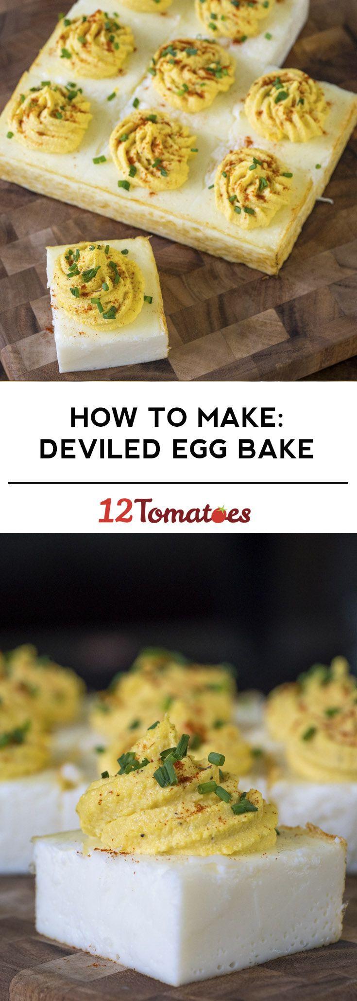 Deviled Egg Bake