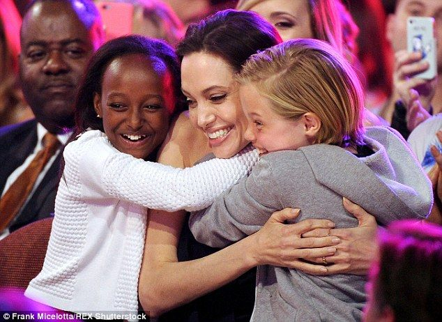One more: The 39-year-old actress shares three biological and three adopted children with ...