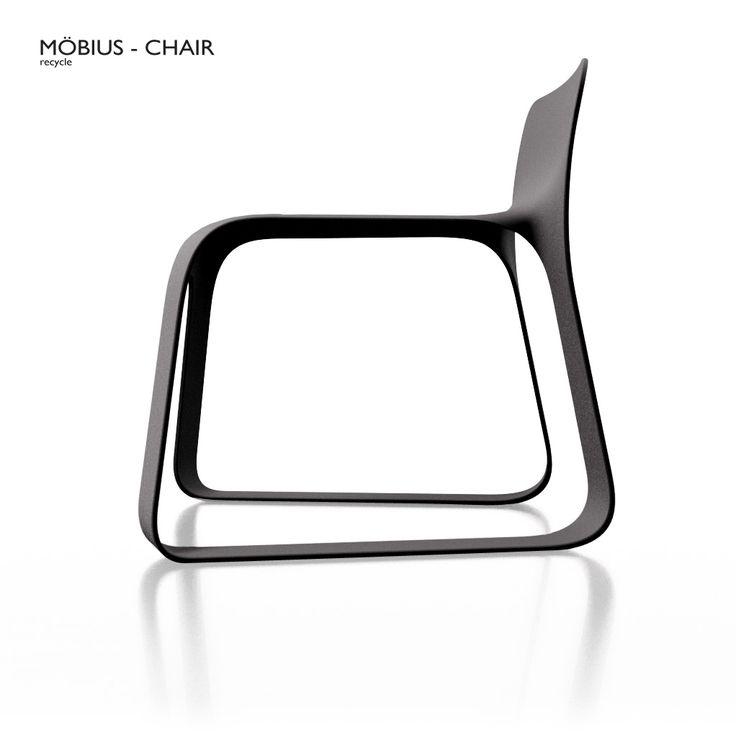 Möbius chair - Judicaël Cornu - product design