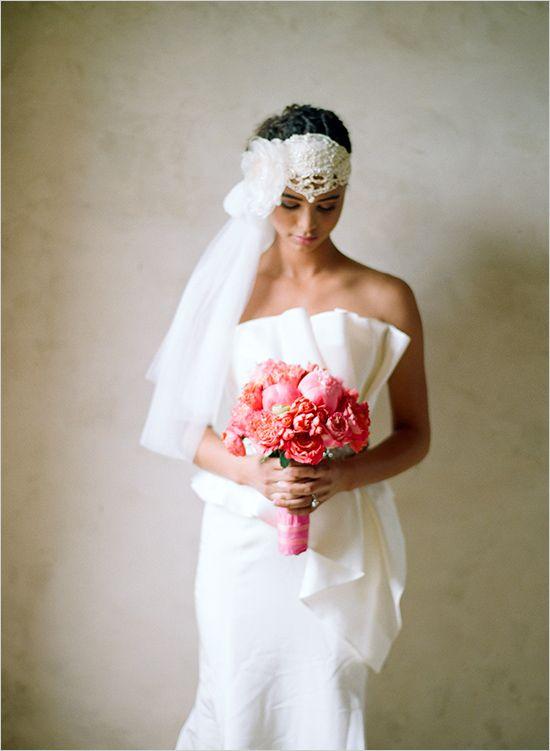 Jannie Baltzer wedding veil