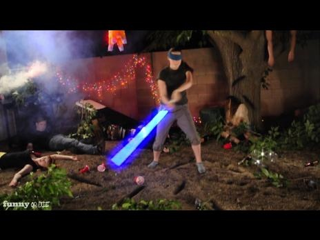 Idiots with a Lightsaber: Pinata