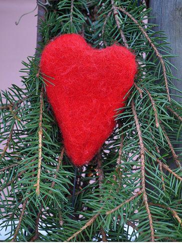 365 saker du kan slöjda » #638 Tova ett hjärta till Alla hjärtans dag