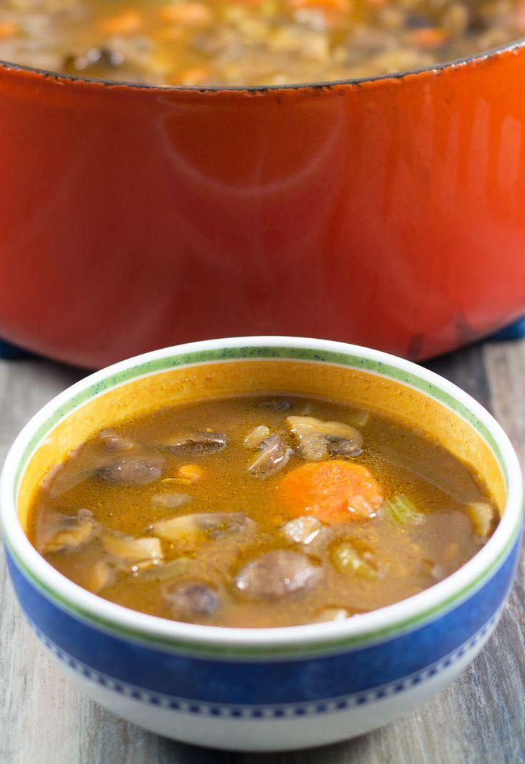 Best 25+ Mushroom Barley Soup ideas on Pinterest | Beef ...