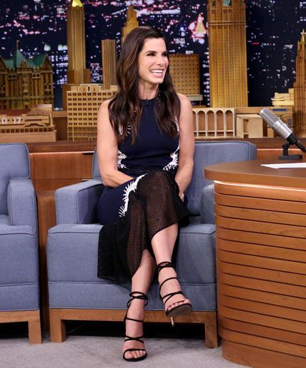 """Sandra Bullock's son chose """"the most inappropriate"""" Halloween costume for his mom"""