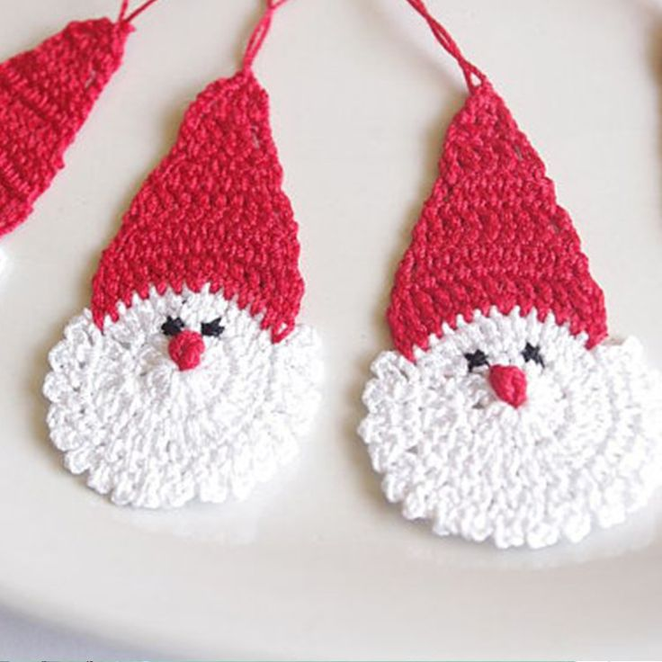 Find More Christmas Information about of 12 Crochet Santa Claus Christmas decorations Hanging Christmas ornaments Crochet Father Christmas,High Quality ornament supplies,China christmas ornaments plastic Suppliers, Cheap christmas ornament drawings from Physical picture 100% on Aliexpress.com