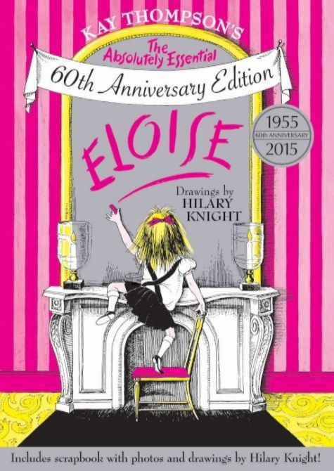Guess who's celebrating her 60th Anniversary this month? ELOISE! She isn't 60 years old, silly. She'll always be SIX. And a city child. Who lives at The Plaza. But 60 years ago, t…