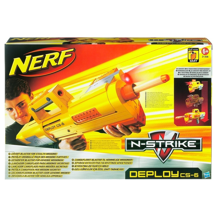 Nerf - N-Strike Deploy CS-6 £21.99