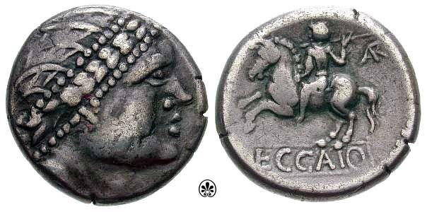 Noricum, Carinthians Celtic coin, ca. 2nd Century BC