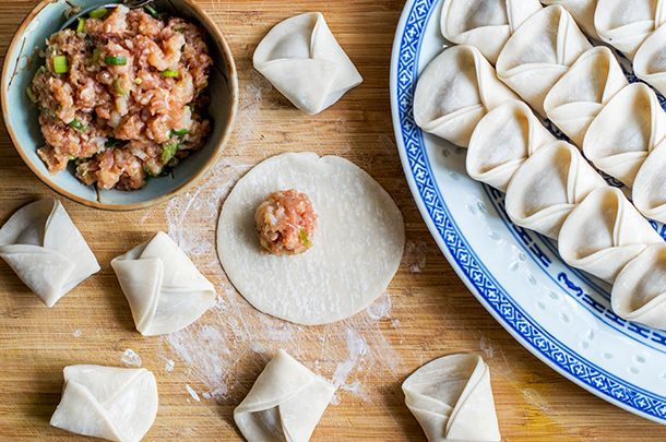 """""""Wonton"""" translates to """"swallowing clouds"""", which gives an idea of how comforting they are. This wonton soup recipe is about as satisfying as it gets."""