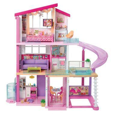 شراء منزل الأحلام المدهش من ماركة باربي أونلاين سبري الإمارات Barbie Dream House Dream House Rooms Barbie House