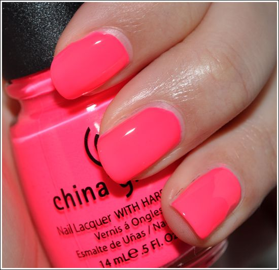 China Glaze in Pool Party