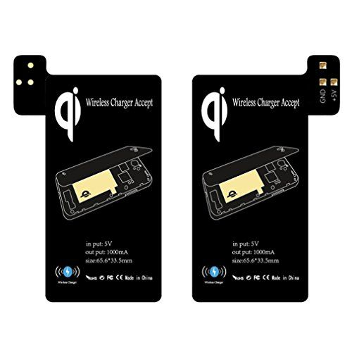 From 3.23:Tonsee Qi Wireless Charging Receiver Support Smart Case For Samsung Galaxy S5 I9600 (black)