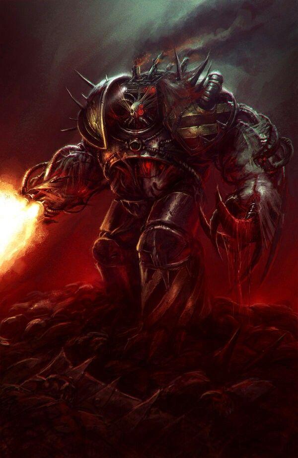 Warhammer 40k Chaos Obliterator | WH40k - Chaos ...