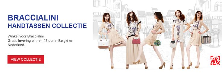 Braccialini web banner design for Samdam Retail Belgium