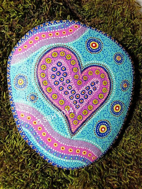 Love is all around - Painted Rock | Flickr - Photo Sharing!