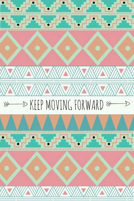 Cute wallpaper for iphone! (Keep moving foward)//;