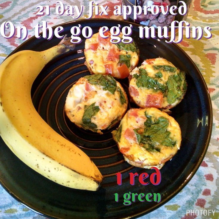 21 day fix recipe breakfast on the go egg muffins beachbodycoach.com/mannings4fitness