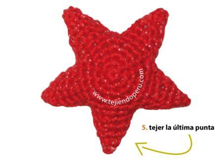 estrellas de Navidad amigurumi (crochet) - amigurumi Christmas stars