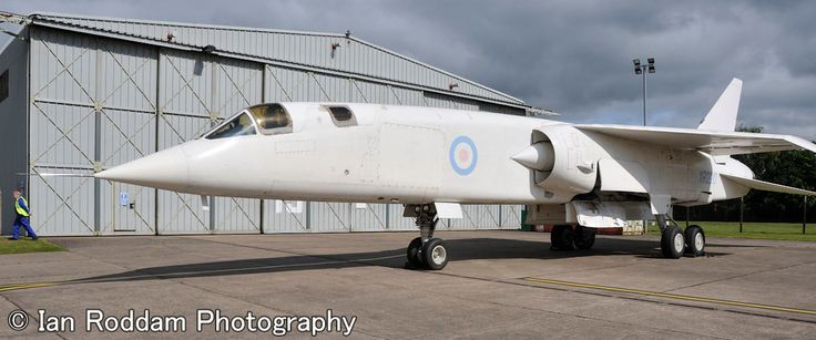 BAC TSR2, Looks a different beast outside the museum.