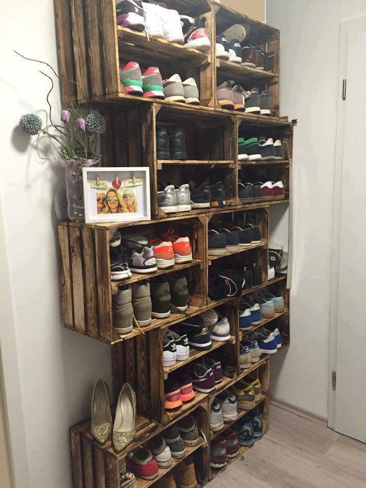 Schuhschrank ähnliche Projekte und Ideen wie im Bild dargestellt finden Sie auch … – Desmondo Wohnen –