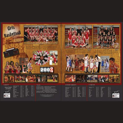 layouts for yearbook | ... a fabulous sports page layout