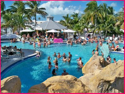 Dante's Key West, FL - the best place to party during the day - a couple of bars, live music and plenty of water to keep you cool!