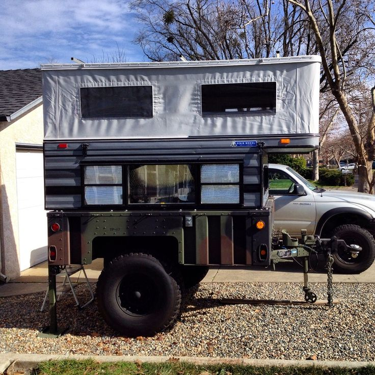 Truck Camper Plans Build Yourself: M1101 Topper - Google Search