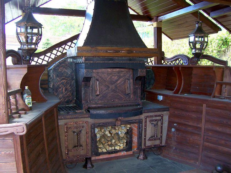 Кормовой комплекс: Печь, фонари, дровница