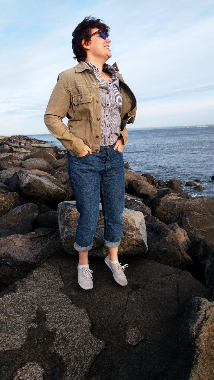 » FabScrap Rescued Denim Transformation into Morgan Jeans - LP Mode #morganjeans