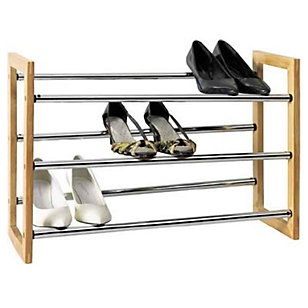 Shoe rack ideas para and organizing for Zapateras de madera