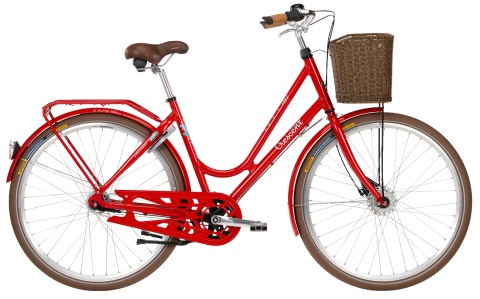 Crescent Sunnan (punainen)  http://www.crescent.fi/pyörät/classic-pyörät