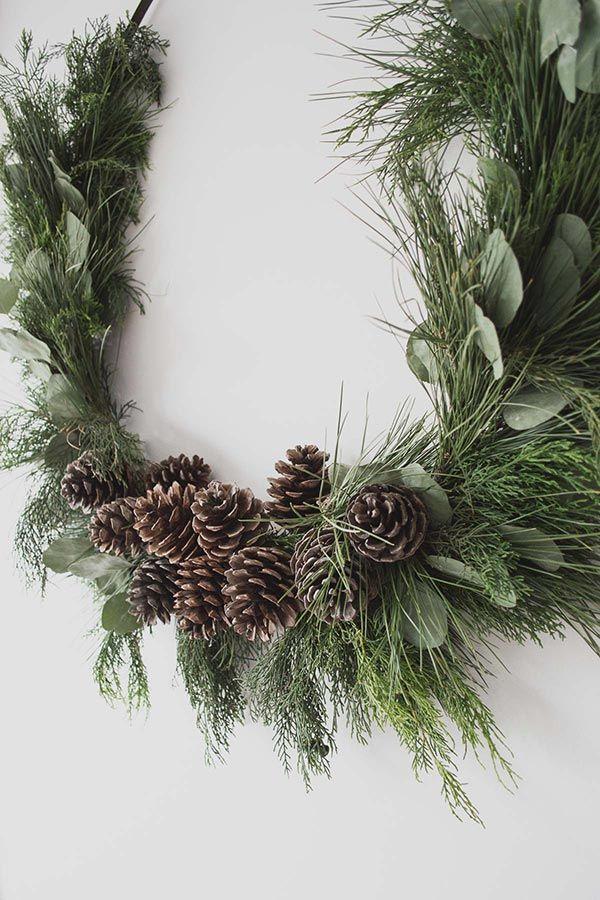 Diy Australian Native Wreath Christmas Wreaths Diy Natural Christmas Wreaths Large Christmas Wreath