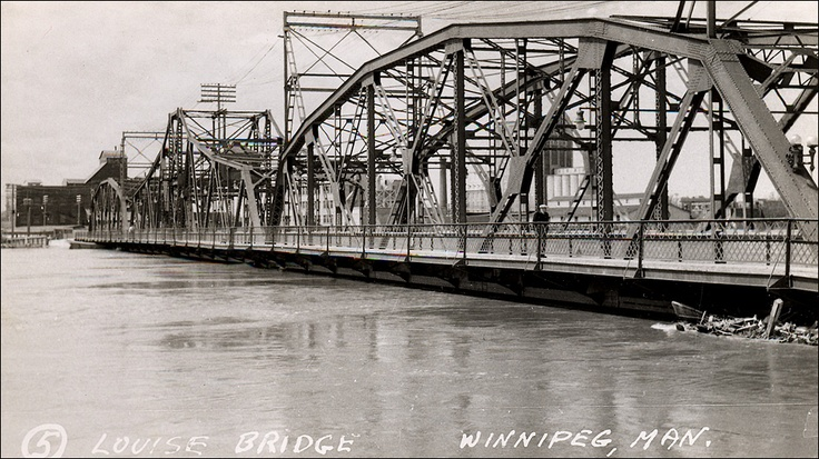 1950 Flood Louise Bridge