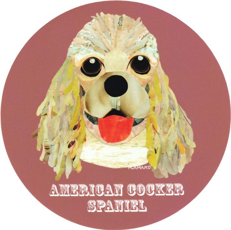 マイ @Behance プロジェクトを見る : 「004   American Cocker Spaniel (Fawn)」 https://www.behance.net/gallery/42195701/004-American-Cocker-Spaniel-(Fawn)