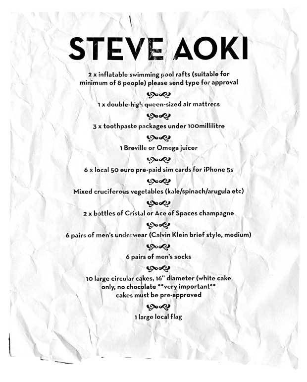 Steve Aoki Rider