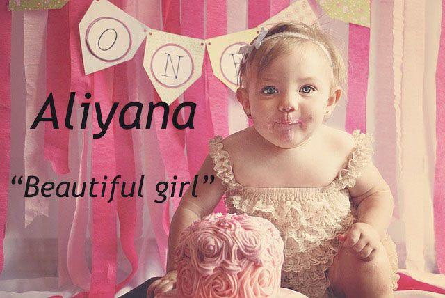 The name Aliyana.