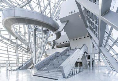 Musée des Confluences by COOP HIMMELB(L)AU Wolf D. Prix & Partner ZT GmbH in Lyon, France
