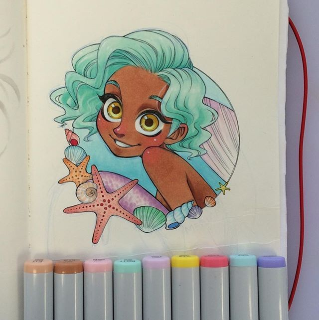 how to use ohuhu markers