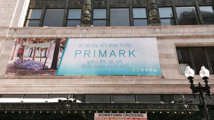 Dublin-based clothing retailer Primark this September will open a 70,000-square-foot flagship location in the Burnham Building in Boston's Downtown Crossing, its first in the U.S. I caught up with two Primark executives to talk about the store.