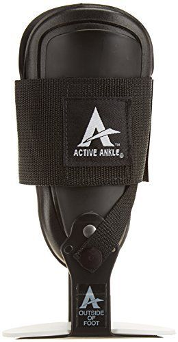Cramer E4 Clam Active Ankle by Cramer. Best used for moderate to severe ankle sprains. Rigid side supports. Single strap. Side supports help prevent ankle sprain. Hinges allow maximum control.