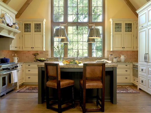 English-country Kitchens from James Howard on HGTV