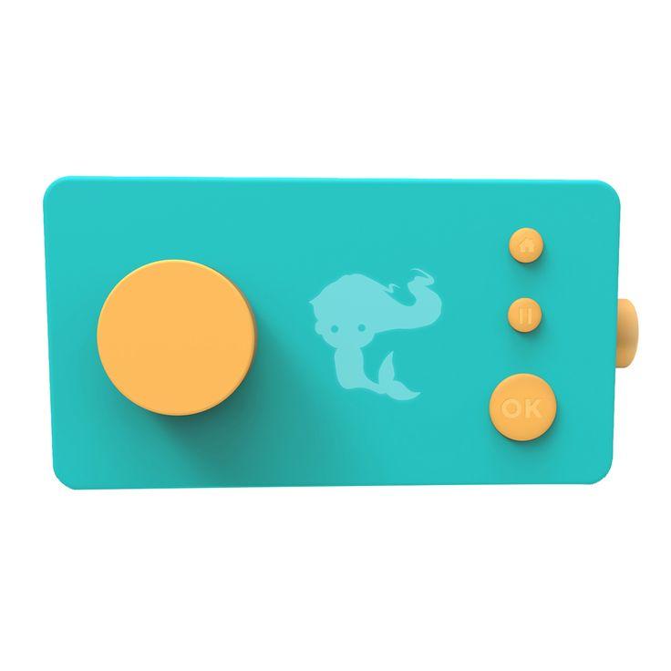 La Fabuleuse fabrique à histoires de Lunii. Ludique, tangible, intuitive, interactive et connectée, elle raconte aux enfants 48 fantastiques aventures, mais pas n