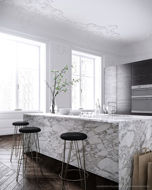 Parisian Apartment by Jessica Vedel   InspireFirst