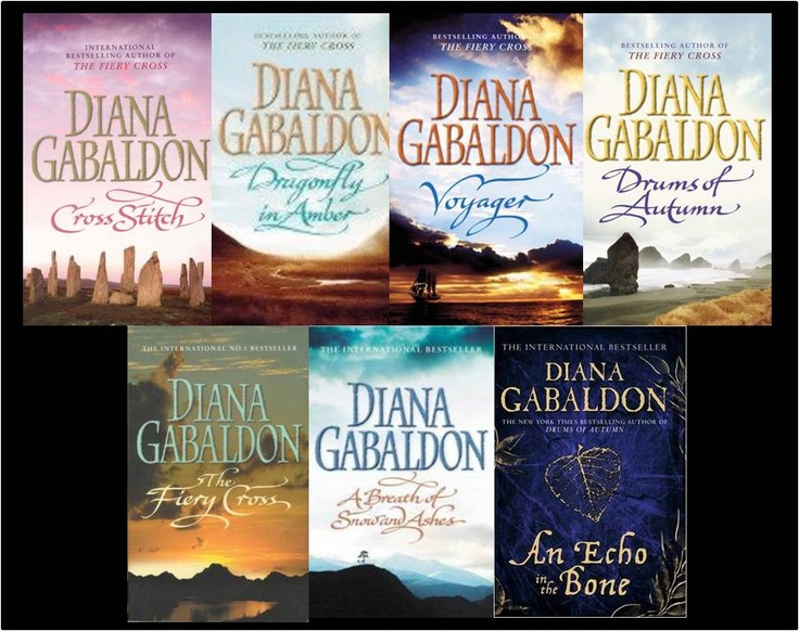 LOVE the the series of Outlander novels by Diana Gabaldon... can't wait for the next one. (although I do hate it when they change the cover artwork on me.  Silly I know but still frustrating!)