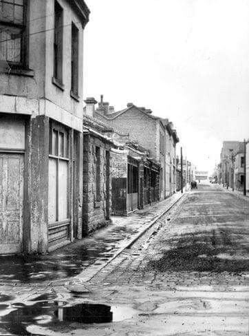 Webb St,Fitzroy,Victoria in 1949.
