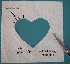 Reverse Applique | Quilt Patterns & Blocks | Angie's Bits 'n Pieces